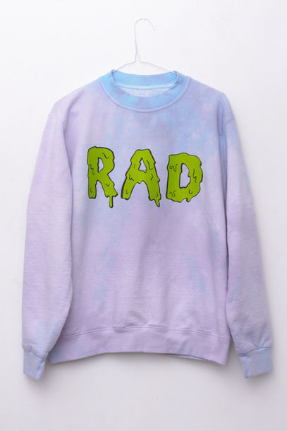 jacket rad sweater sweatshirt pastel radical tumblr hipster lime purple