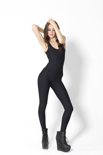 New Matte Black Catsuit | Black Milk Clothing