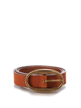 belt leather camel