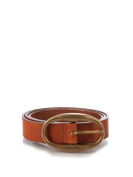 belt leather camel