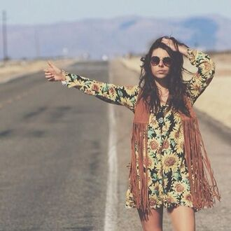 jacket hippie indie t-shirt sunglasses shirt