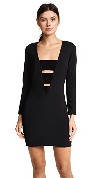 Haney dress black