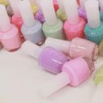 Pastel Nail Polish  | Nail Art Designs