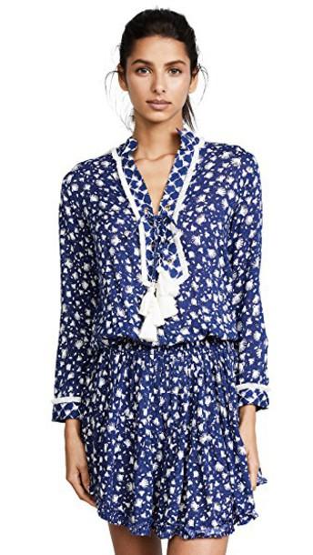 Poupette St Barth dress mini dress mini tassel blue