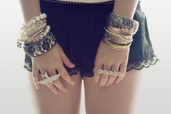 jewels bracelets Jewlery ring shorts