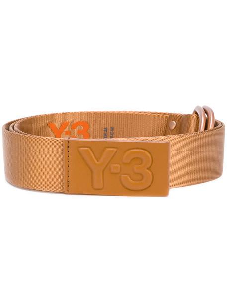 metallic belt logo belt