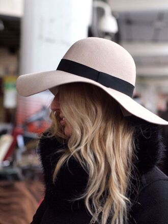 floppy hat comfy fall outfits warm boho