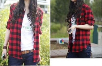 top flannel shirt hipster red flannel shirt