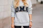 sweater,grey,sweatshirt,navy