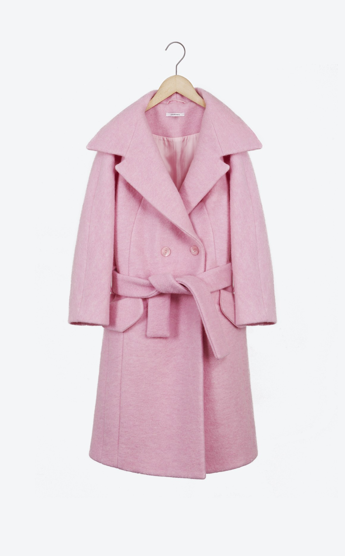Manteau laine bouillie