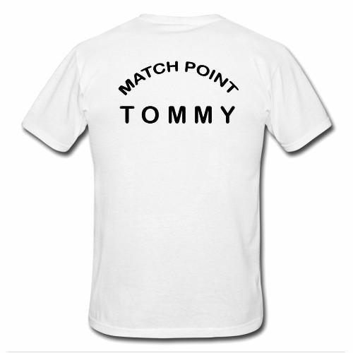 MATCH POINT tshirt BACK