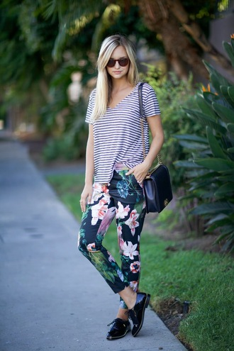 shoes top bag sunglasses jewels late afternoon blogger