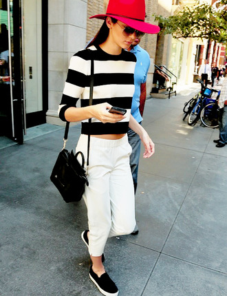 kendall jenner blouse shoes