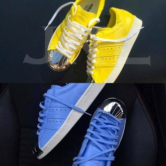 shoes yellow blue adidas shoes adidas