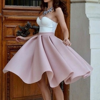 dress or rose skirt