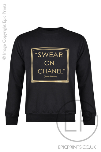 chanel inspired carrie bradshaw sweater