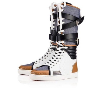 shoes high top sneakers louboutin boots