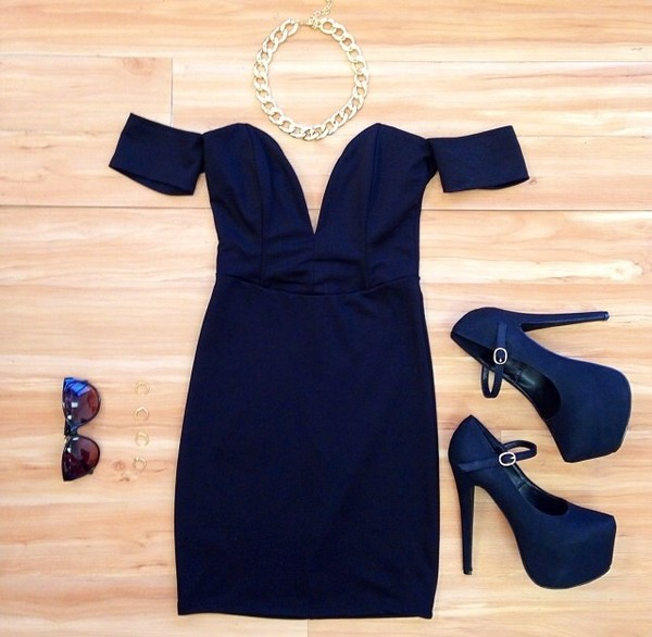shoes high heels black high heels dress sunglasses