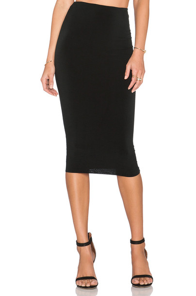 Nookie skirt pencil skirt black