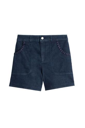 shorts high blue