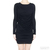 HELMUT Helmut Lang Kinetic Draped Long Sleeve Jersey Dress / TheFashionMRKT