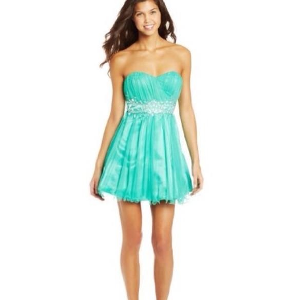 dress blue prom prom dress