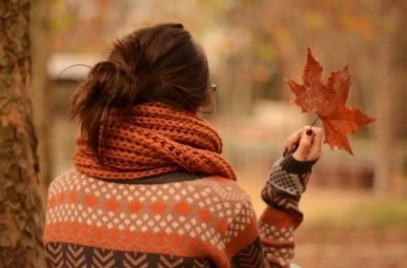 cardigan gilet automne écharpe