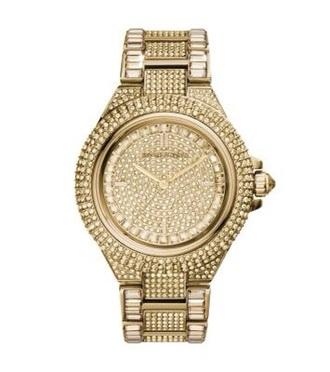 jewels michael kors michael kors watch women's accessory gold watch gold