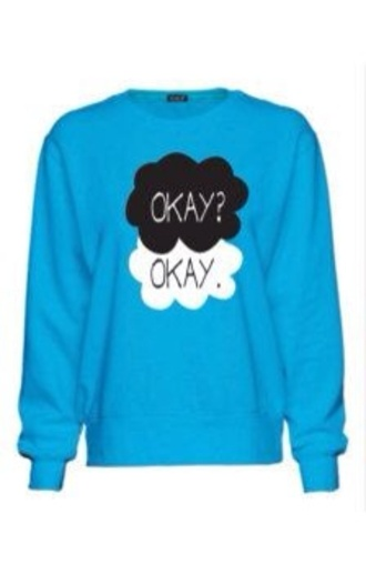sweater girly the fault in our stars
