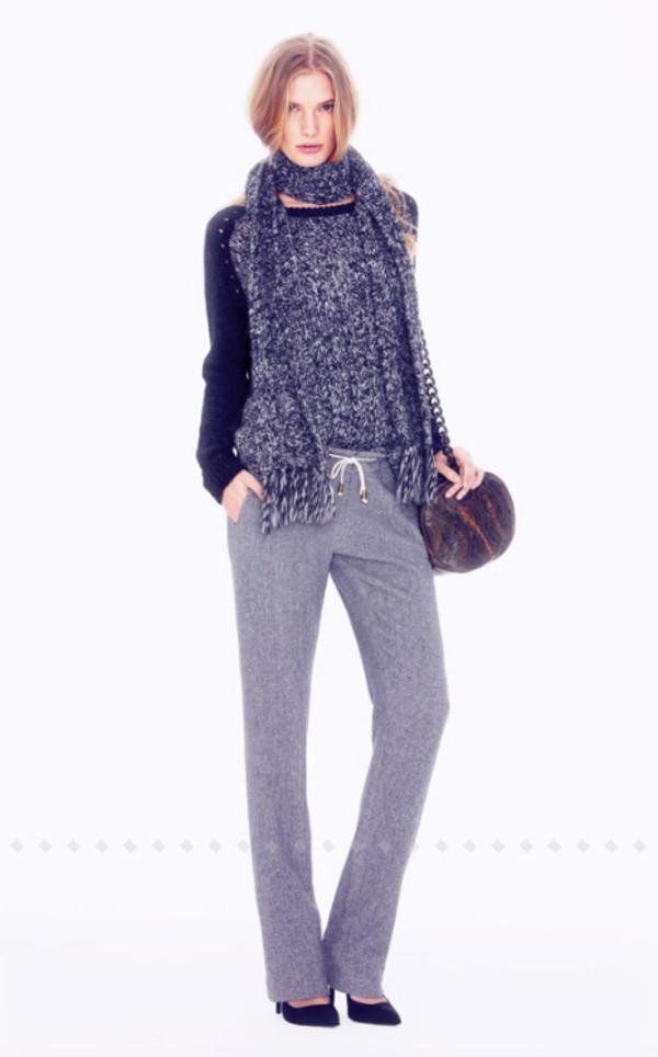 sweater ba&sh fashion lookbook pants