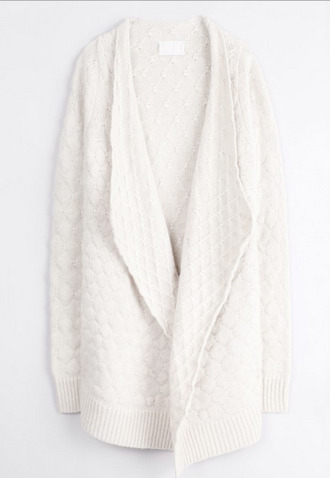 white jacket zadig et voltaire white jacket white jacket white jacket coat gold wool wool hat winter sweater winter outfits oversized cardigan