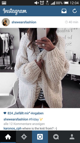 jacket white laine cozy oversized oversized jacket cream color