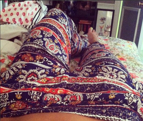 pants harlem boho pants harlem pants hippie hippy pants flowy pants boho harem pants