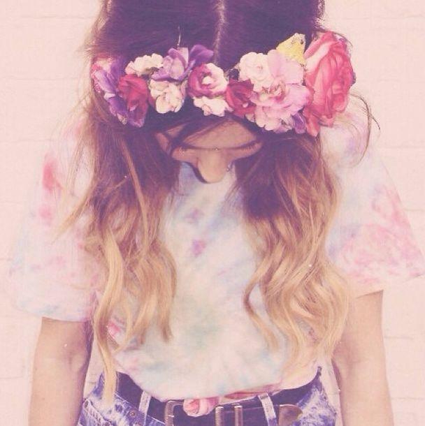 Flower Crown Background Tumblr