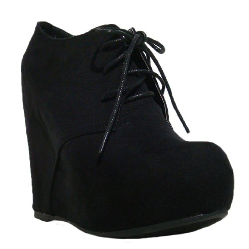 Bootie Wedge Heels