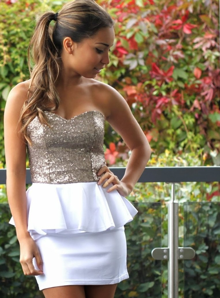 Vicky valkoinen mekko | HerSecret.fi