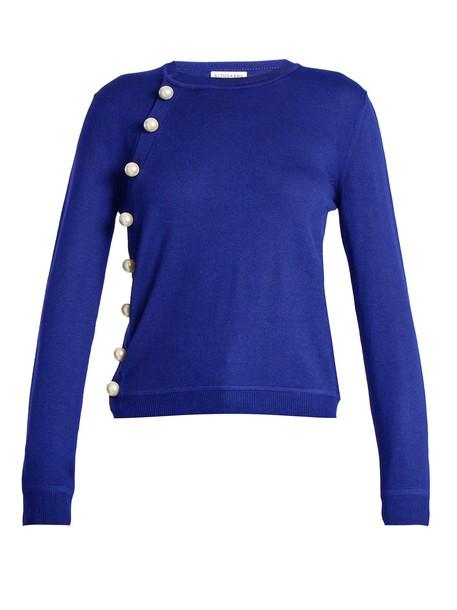 Altuzarra sweater wool sweater wool blue
