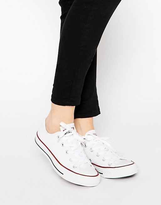 Converse Chuck Taylor All Star Core White Ox Trainers at asos.com 001513389
