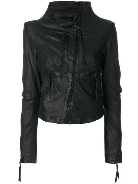Barbara I Gongini jacket women cotton black