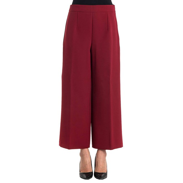 Blugirl pants women burgundy