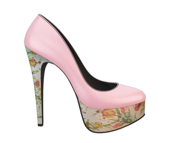 shoes heels stilettos pink heels women party