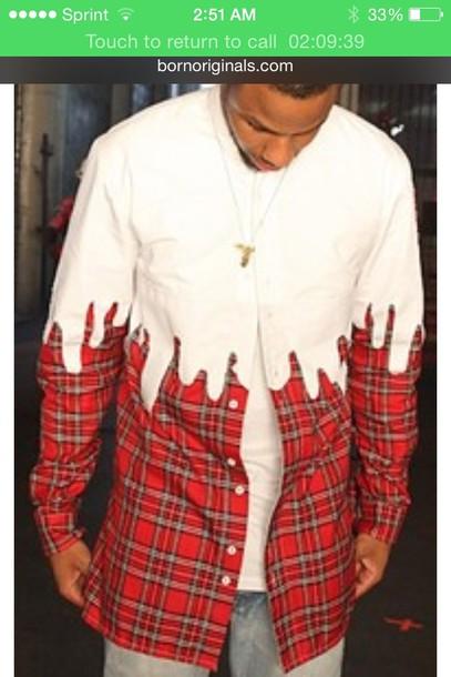 Chris Brown Sans Shirt