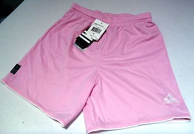 Adidas Climalite Youth soccer shorts pink 3 sizes to pick (M
