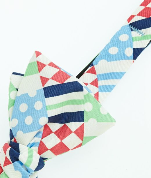 Kentucky Derby Ties: Shop Derby Patchwork Bow Ties for Men | Vineyard Vines®