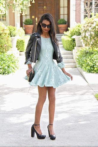 tuolomee blogger dress jacket shoes