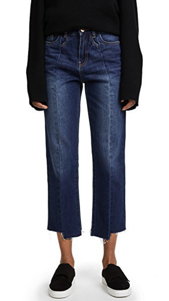 Edition10 jeans cropped jeans cropped denim blue