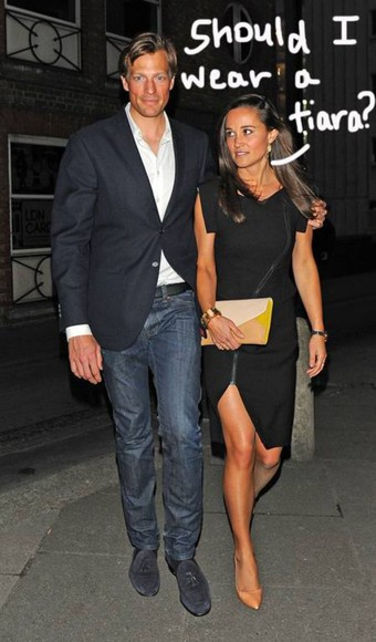 dress pippa middleton little black dress zipper sexy