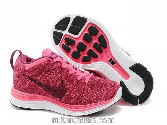 shoes girls nike flyknit lunar 1 womens nike roshe runs black white fuschia sneakers