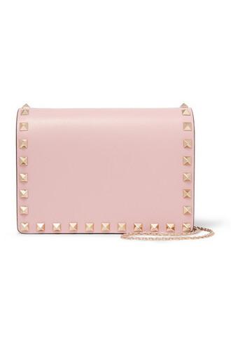 mini baby bag shoulder bag leather pink baby pink