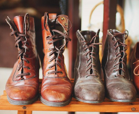 combat boots boots indie hipster